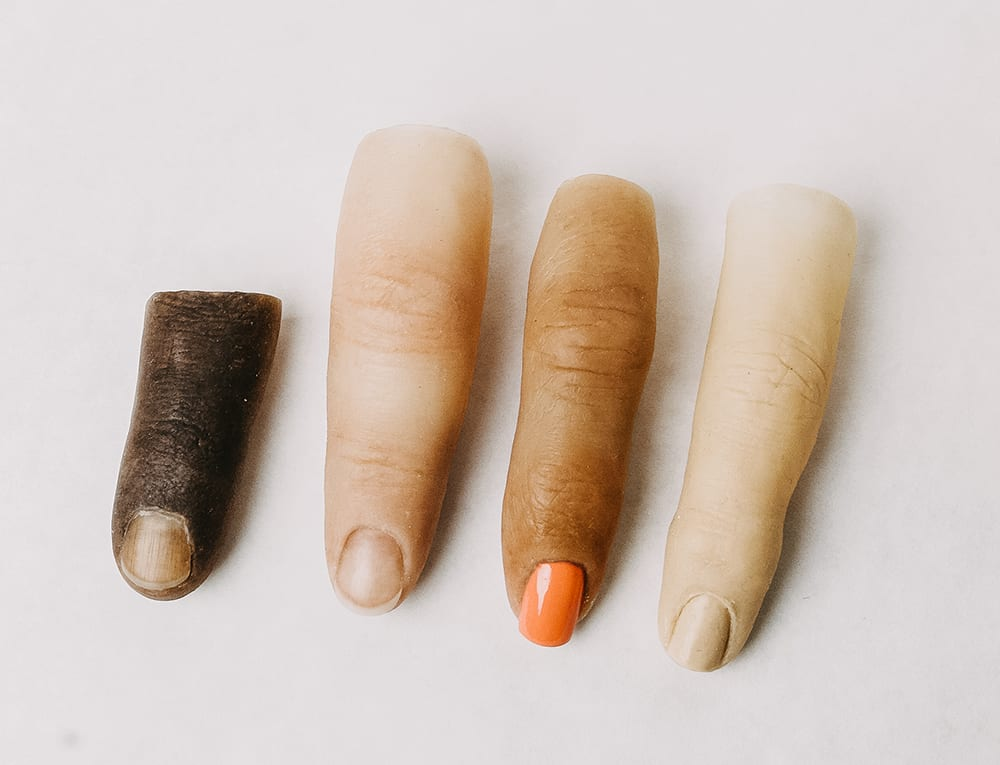 Realistic Silicone fingers