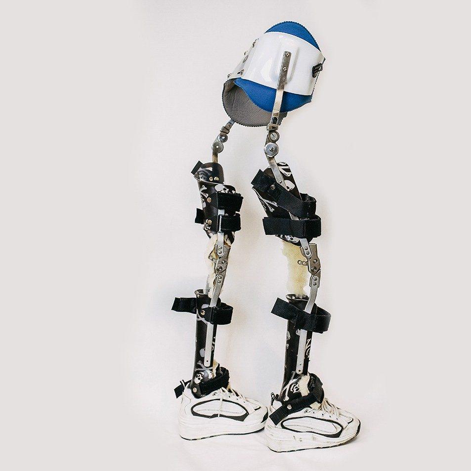 lower body bracing device