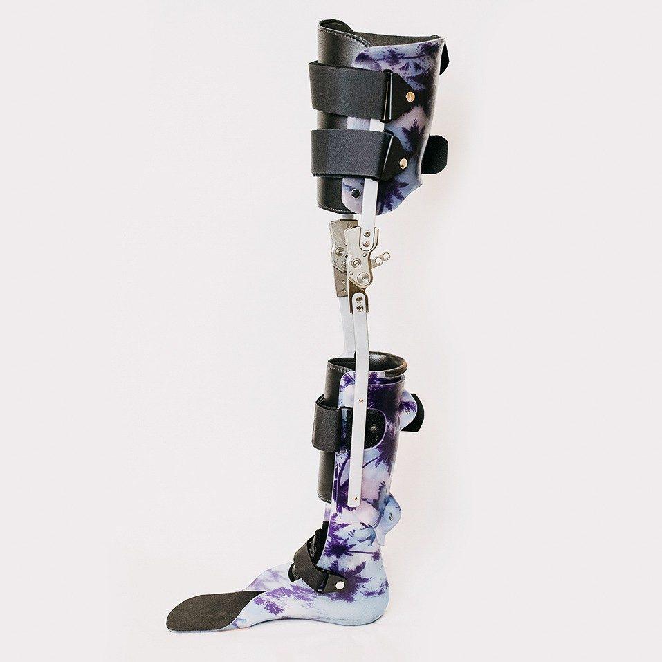 lower limb bracing device