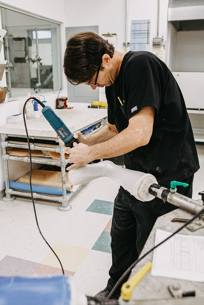 prosthetic leg manufacturing