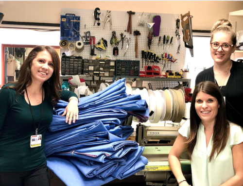 Making Sleeping Bags for the Homeless – WCBL In The Community