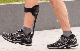 Man Walking in Turbomed Xtern AFO for dropfoot