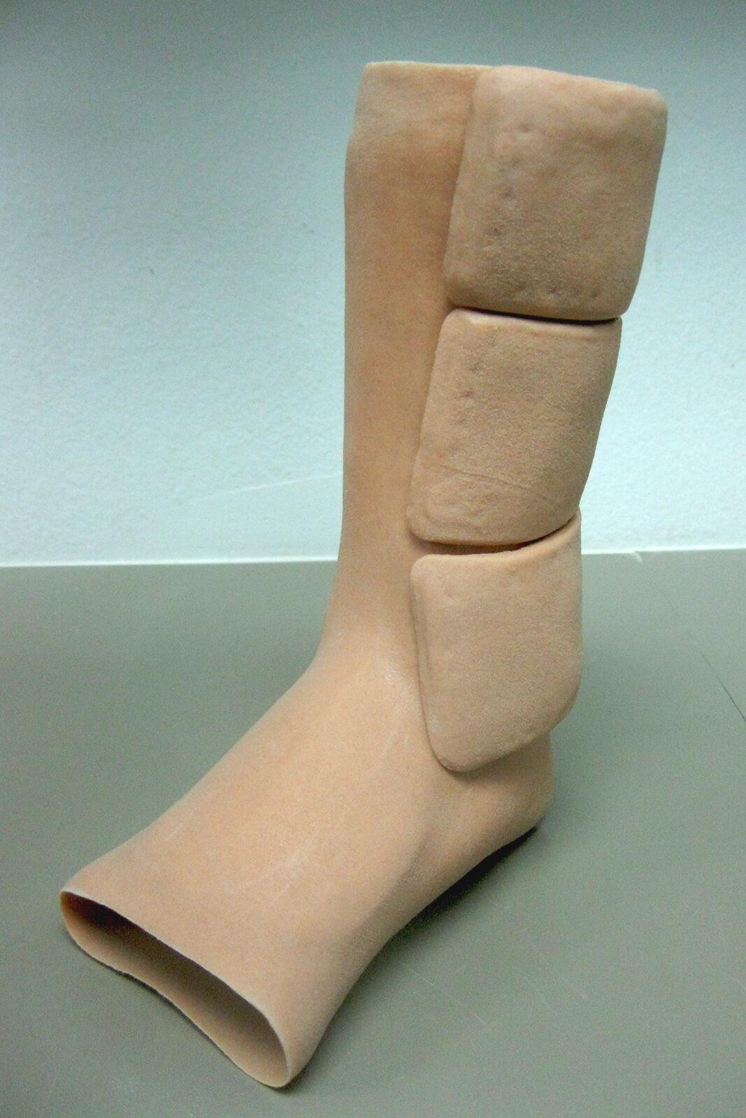 Silicone AFO velcro straps side